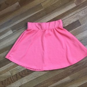 💖 Pink Charlotte Russe Mini Skirt